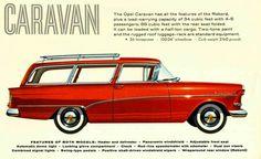 Opel Rekord Caravan 1959-