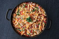 """Good recipes are the key to a happy family. If you are looking for good recipes """" Cheesy Tex Mex Chicken Penne """", here is the right place. Chicken Penne Recipes, Cheesy Pasta Recipes, Tuscan Chicken Pasta, Easy Chicken Dinner Recipes, Chicken Spaghetti, Chicken Meals, Fried Chicken, Easy Meals, Tex Mex Chicken"""