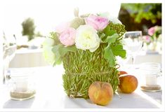 Inspired by Using Herbs in Wedding Decor and Personal Flowers - Inspired By This