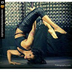 "How fierce is Sasja ""Fierce"" Lee in her PoleFit® Metro Monokini! And it's her Bday today! Happy Bday Sas! #badkittypride Repost @secretpoledancestudio ・・・ #HappyBirthday to our #poleINSTRUCTOR @iamsasjafierce!!!! Enjoy your #birthday!!! Make it a good one! #birthdaygirl #itsherbirthday #poledancersofig #poledancemotivation #poledancersofinstagram #polegirlsrock #blackgirlspole #tattoedpoledancer #tattoosandpole #ig_poledance #poledancenation #teamSECRET #teamspds"
