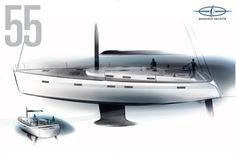 Sail World - The world's largest sailing news network; sail and sailing, cruising, boating news Bmw X7, Bmw Design, Yacht Design, Pagani Huayra, Mustang Fastback, Rolls Royce, Bugatti, Boat Sketch, Yatch Boat