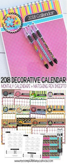 111 best Calendars/Planners images on Pinterest in 2018 Happy