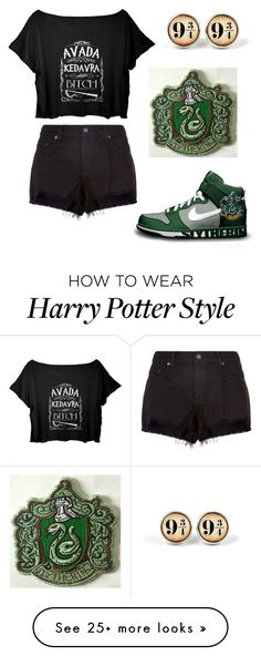 """Harry Potter style"" by allesamp on Polyvore featuring NIKE and rag & bone"