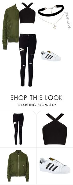 """My perfect set"" by camila2004 ❤ liked on Polyvore featuring Miss Selfridge, BCBGMAXAZRIA, Topshop, adidas and ASOS Curve"