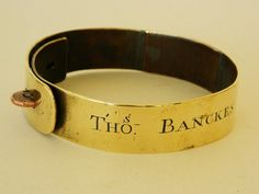 Antique Dog Collar C1783
