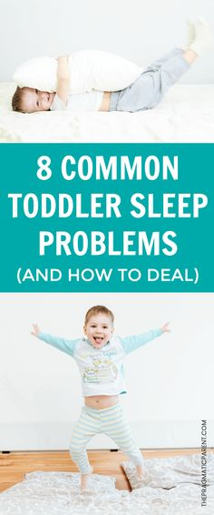 Common Toddler Sleep Problems and How to Correct Them. Kid's Common Sleep Problems. Fix Child Waking Up in the middle of the night, Fighting Bedtime and fighting naps. #wontgotosleep #fightsbedtime #troublefallingasleep #toddlersleepproblems