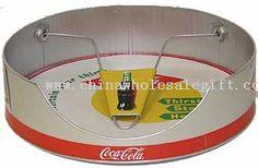 paper plate holders   Paper Plate Holder ,unique Retro Galvanized Tin Silver Coca-Cola Paper ...