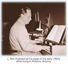 L. Ron Hubbard's Weird Music Career by Katie Notopoulos via BuzzFeed. Apart from founding Scientology, Hubbard fashioned himself a composer and musician. There's a small body of his work out there, and it's approximately as good as the movie Battlefield Earth.