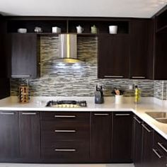 Brief Article Teaches You the Ins and Outs of Faircrest Espresso Shaker Kitchen Cabinets - gameofthron Shaker Kitchen Cabinets, Modern Cabinets, Kitchen Backsplash, Kitchen Countertops, Kitchen Island, Kitchen Interior, Kitchen Decor, Kitchen Ideas, Industrial House