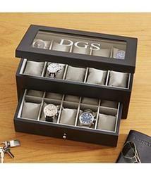 Personalized 20 Watch Wood Box