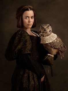 Inspired by Rembrandt's Flemish Paintings...photographer Sacha Goldberger