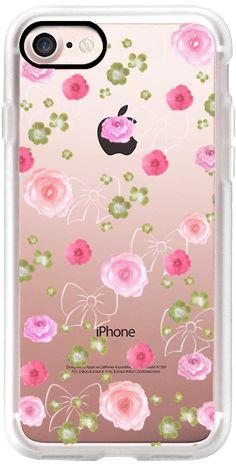 Casetify iPhone 7 Classic Grip Case - Pinky by Li Zamperini Art #Casetify