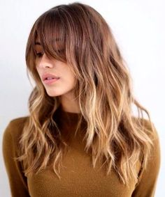 Hottest New Long Hairstyles 2016 with Bangs