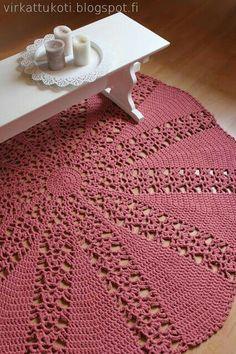Crochet Doily Rug, Crochet Rug Patterns, Crochet Carpet, Crochet Home, Nursery Rugs, Jute Rug, Natural Rug, Crochet Fashion, Handmade Rugs