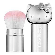 Retractable Kabuki Brush - Silver - BEAUTY #SephoraHelloKitty