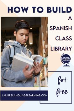Did you know that reading in Spanish is the most effective way to teach and learn Spanish vocabulary? Creating a Spanish classroom library with comprehensible input readers for your high school Spanish class is the easiest idea to ramp up your Spanish 1 curriculum this year! Spanish 2 students in middle school will also love free voluntary reading. The best part? You can get Spanish books and resources for free! Read here to see how I did it! #fvr #spanishclassroom #classroomlibrary… Middle School Spanish, Elementary Spanish, Vocabulary Instruction, Spanish Vocabulary, Spanish Teaching Resources, Spanish Activities, Spanish Lesson Plans, Spanish Lessons, Spanish 1