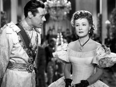 "Irene Dunne and Rex Harrison in ""Anna And The King of Siam"" (1946)"