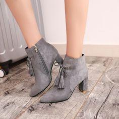Women S Fashion Kaiapoi Key: 2726997047 Unique Shoes, Cute Shoes, Bootie Boots, Shoe Boots, Women's Boots, Asics Running Shoes, Ankle Shoes, Fashion Boots, Slip On Shoes