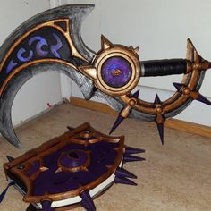 World of Warcraft. Blade of the Black Empire. Design by Sara.