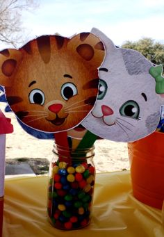 daniel tiger birthday party -- wehadababyit'saboy