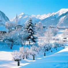 Kaprun, Austria | Find your dream winter season travel job: www.traveljobsearch.com/jobs