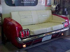 Mustang couch!