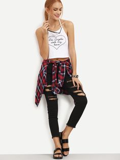 Shop Black Skinny Ripped Raw Hem Jeans online. SheIn offers Black Skinny Ripped Raw Hem Jeans & more to fit your fashionable needs.