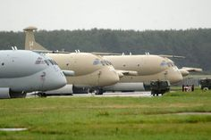 Nimrods on the tarmac at RAF Kinloss in Picture: PA Military Helicopter, Military Jets, Military Aircraft, Commonwealth, Hawker Tempest, Air Force Aircraft, Cargo Airlines, Army Vehicles, Royal Air Force