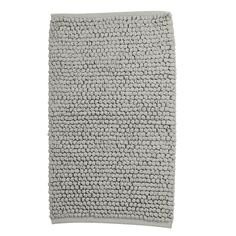 Our Cotton Twill Bath Rug is a treat for bare feet. Expertly woven from pure cotton twill with thick, chunky loops.