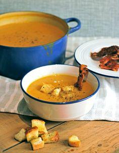 Perfect for Autumn...butternut squash and celeriac soup