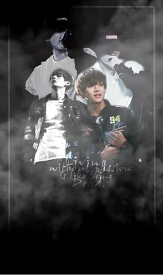 'Living without passion is like being Dead.' ~ BTS , JK (Jungkook) Gooood Moorrning c: I hope u feel well today ^^ On this morning i have a little #Taekook Pic for everyone ^^