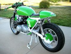 Kawasaki KZ750 Cafe Racer by Jeff Snowden