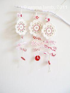 #crochet #flower charms