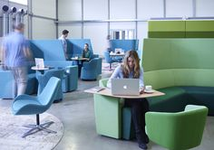 Away from the desk seating | Collaborative seating