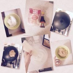 Six steps to make delicious noddles ❤️❤️ #thaifood #thai #food