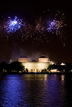 Did we mention how beautiful Chrysler Museum look at night - with fireworks?!