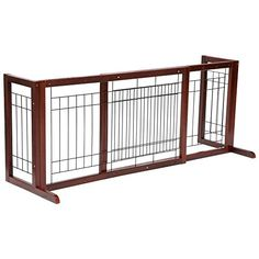 A great way to restrict the movement of small to medium dogs Such as Beagles Bulldogs miniature poodles and other dogs of similar sizes Slide-out design expands from 38 to 71 inch to fit doorways ...