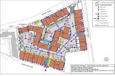 Foto: SuDS plan Riverside, Stamford (Courtesy Robert Bray Associates)