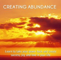 This is why i want abundance in my life!