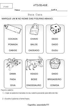 atividades de reforço escolar alfabetização 11