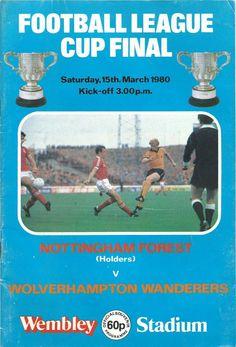 Football League Cup Final Wembley Stadium Matchday Programme