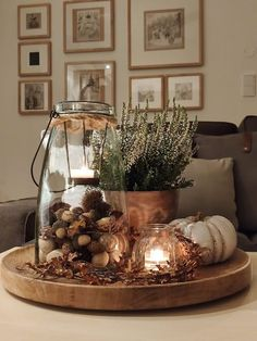 Easy Christmas Decorations, Thanksgiving Decorations, Seasonal Decor, Table Decorations, Holiday Decor, Halloween Decorations, Halloween Home Decor, Fall Home Decor, Autumn Home