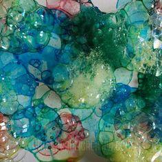 Disegnare con Bolle di Sapone: Ecco come si fa! (...e un'idea per decorare casa con il Bubble Painting!) Bubble Painting, Bubbles, Crafts, Inspiration, Home, Biblical Inspiration, Manualidades, Handmade Crafts, Craft