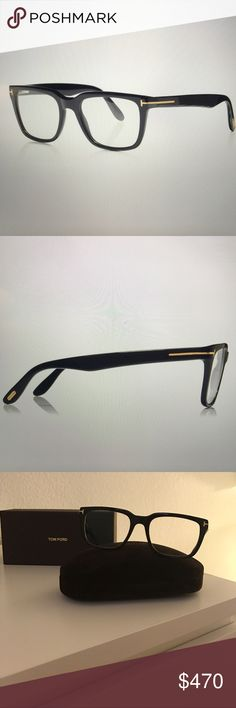 251de53193cb Tom Ford Square Optical Frame in Black. Tom Ford Square Optical Frame  (Reading Glasses