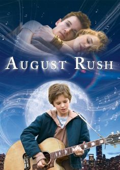 AUGUST RUSH is part romance, part gentle fantasy, but this sweet drama is all heart. When young cellist Lyla (Keri Russell) and rock musician Louis (Jonathan Rhys Meyers) meet at a party in the mid 19