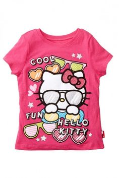 Hello Kitty Sugar Glitter Tee (Little Girls) on shopstyle.com