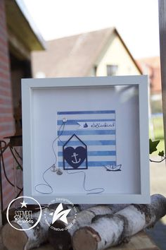 Scrapbooking, Home And Deco, Coming Home, Decoration, Seaside, Stampin Up, Nautical, Creations, Frame