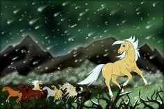 'Kunama was nowhere to be seen. Tambo was there, and Thowra saw Jilla and Wanga making towards him. Romance And Love, Moose Art, Snow, Horses, Deviantart, Christmas Ornaments, Holiday Decor, Drawings, Lovers