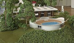 Entelechy I & II: The Magnificent Houses Of Architect John Portman – Faustian urGe Outdoor Furniture Sets, Outdoor Decor, Mid-century Modern, Architecture Design, Home And Garden, Construction, Traditional, Architects, Bridge