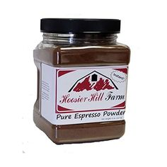 Pure Espresso Powder 8 oz Hoosier Hill Farm *** Continue to the product at the image link.(This is an Amazon affiliate link and I receive a commission for the sales)